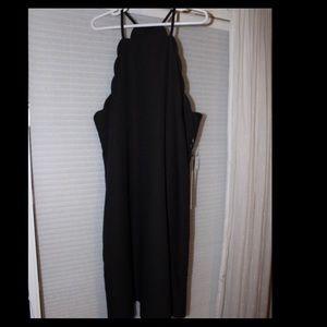Lulu scalloped dress